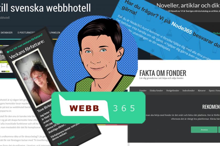 Webb365 växer