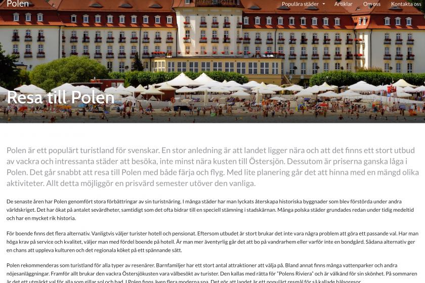 Polen projektet