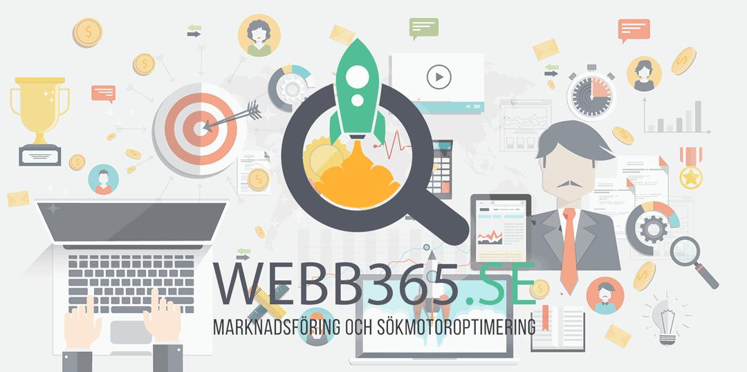 Webb365.se - Marknadsföring och sökmotoroptimering